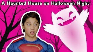 A Haunted House on Halloween Night and More | SCARY SURPRISE | Baby Songs from Mother Goose Club!