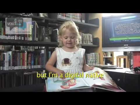 What digital natives want from their library