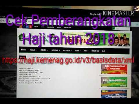 Harga www info haji kemenag go id