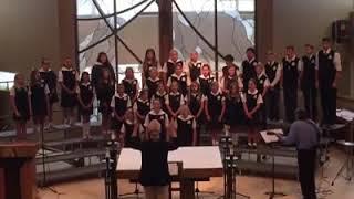 St. Joachim Catholic School Student Choir -  Let There Be Light