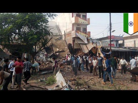 85 personas en la India mueren luego de que un cilindro de gas explotara
