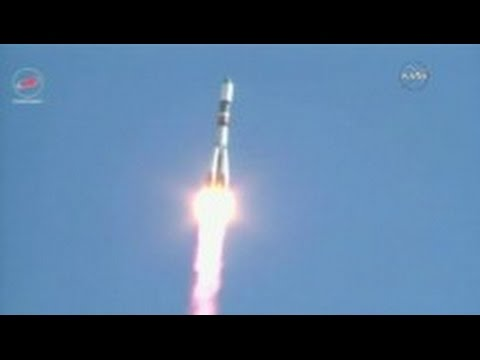 Russia launches rocket to ISS
