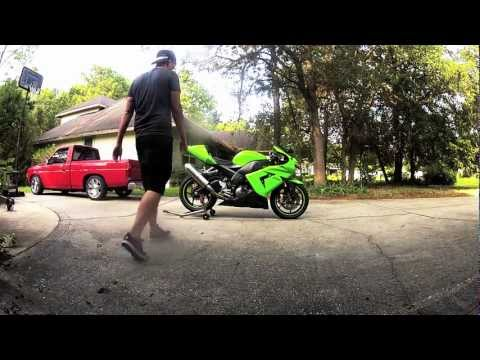JDM 2005 Kawasaki ZX10 start up and walk-around