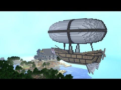 Monster School (Preschool) - Zeppelin Ride to New School! - Minecraft Animation