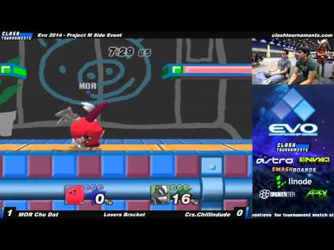 Evo 2014 - MOR Chu Dat vs Crs Chillin - Project M