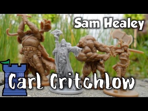 Carl Critchlow Box for Zombicide: Black Plague Review - with Sam Healey