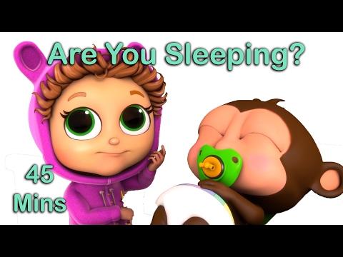 Are You Sleeping? | Nursery Rhymes with Lyrics |...