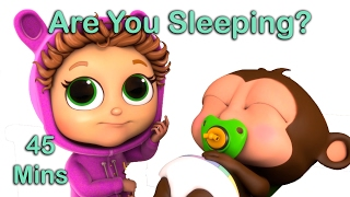 Are You Sleeping? | Nursery Rhymes with Lyrics | Educational