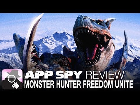 Monster Hunter Freedom Unite for iOS   iOS iPhone / iPad Gameplay Review - AppSpy.com