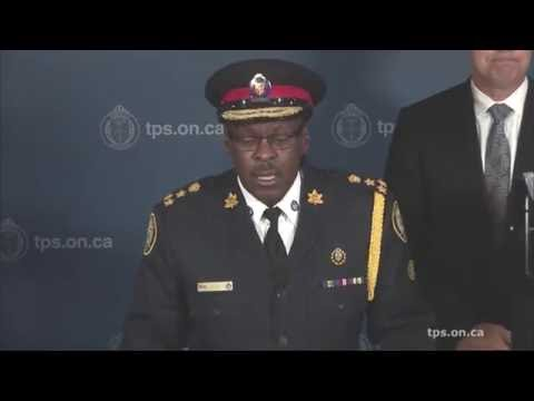 Arrests in 'Project Sizzle'   @TorontoPolice Chief Mark Saunders News Conference