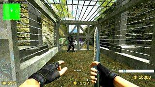 Counter Strike Source - Zombie Escape Mod - Jurassicpark Escape - UNLOZE