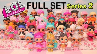LOL Surprise Dolls Series 2 Wave 2 FULL SET ULTRA RARE - Baby Doll Play With Toys Like Surprise Eggs