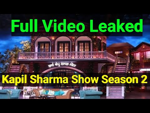 The Kapil Sharma Show Season 2 Set Video Leaked // Kapil New Show SHOOT Video LEAK || VICKY NEWS || thumbnail