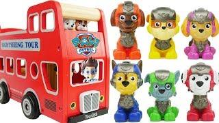 Tour Bus with Paw Patrol Mini Figures