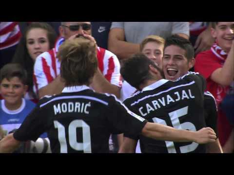 James Rodríguez marca el mejor gol de la jornada 10