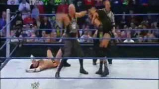 WWE SmackDown 1.29.10 Triple H vs CM Punk 2/2