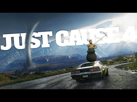 Tornado Destroys Entire City in Just Cause 4 - Getting Over It Easter Egg - Just Cause 4 Gameplay
