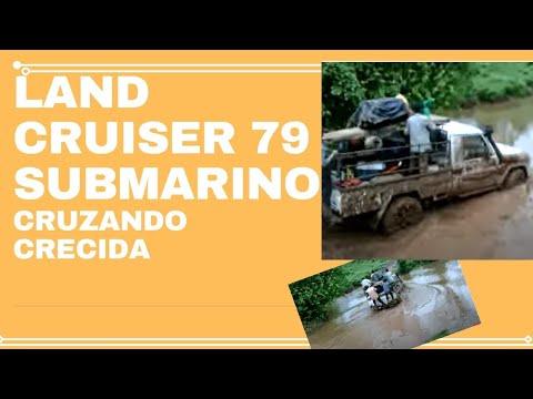 LAND CRUISER 70 CRUZANDO RIO - YouTube