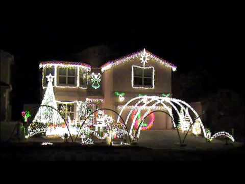 Hampster Dance Light-o-rama Christmas Lights video