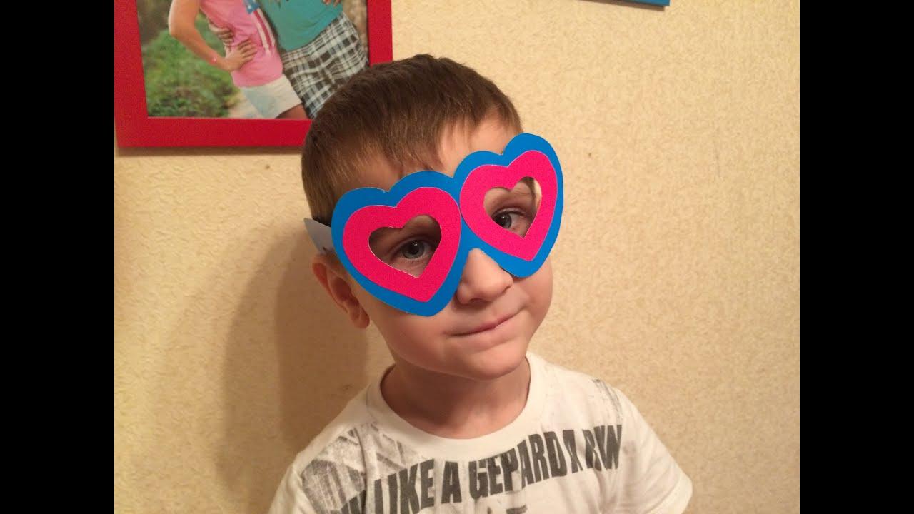Как сделать очки из бумаги своими руками поэтапно фото для начинающих