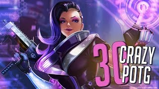 30 CRAZY PLAYS OF THE GAME #33 ►Overwatch Highlights Community Montage