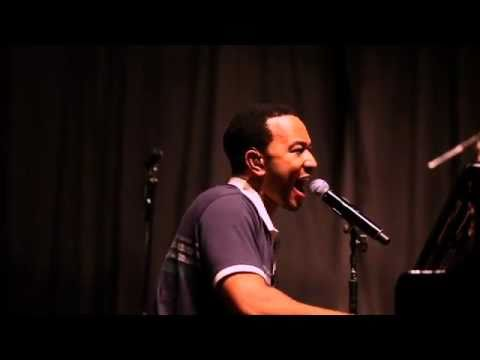 John Legend summer tour kick-off rehearsal performance (rebroadcast)