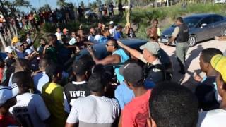 Goiana: Protesto dos moradores de Povoação de São Lourenço na PE-049