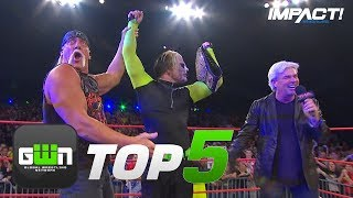 5 Most DESPICABLE Heel Turns in IMPACT Wrestling History | GWN Top 5