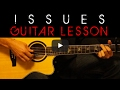 Julia Michaels - ISSUES Easy Acoustic Guitar Tutorial Lesson Cover + Tabs/Chords/Lyrics