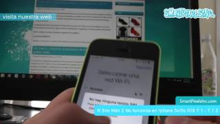 R Sim Mini 2 No funciona en Iphone 5c/5s IOS 7.1 - 7.1.2