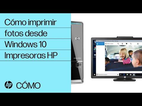 Cómo imprimir fotos desde Windows 10 | Impresoras HP | HP