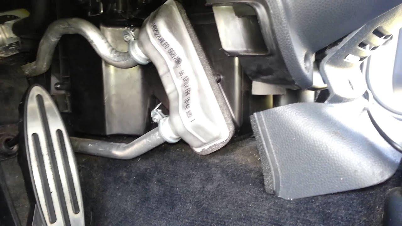 2003 Mini Cooper S R53 Heater Core Installation Youtube