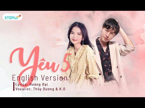 YÊU 5 Rhymastic - Cover (English Version) - Học tiếng Anh qua bài hát