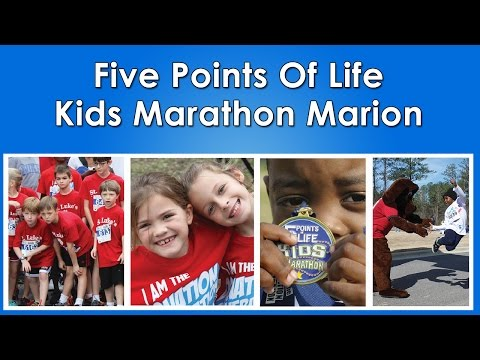 Sign up kids marathon MARION