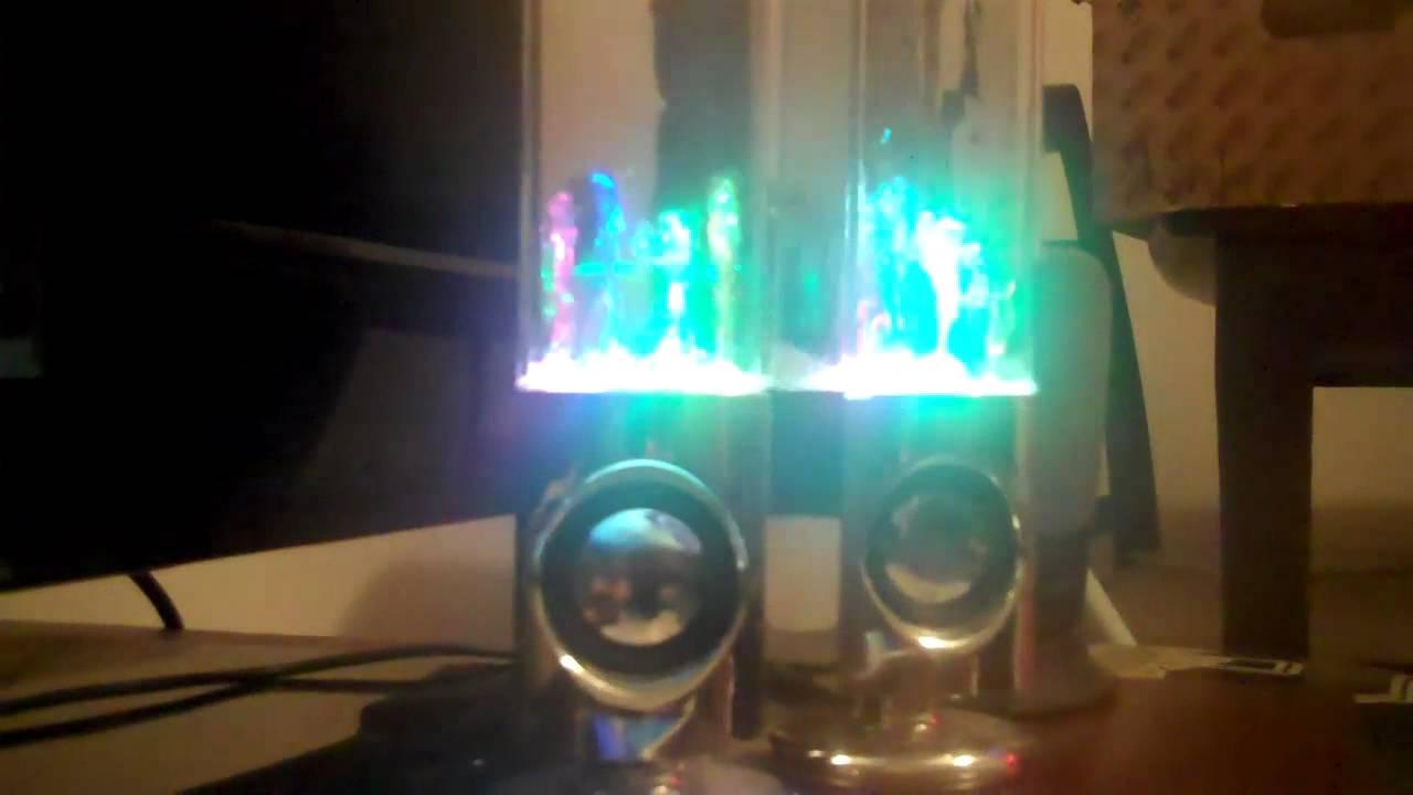 Neon Water Speakers Water Dancing Speakers