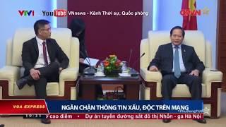 Việt Nam bày tỏ quan ngại với Facebook