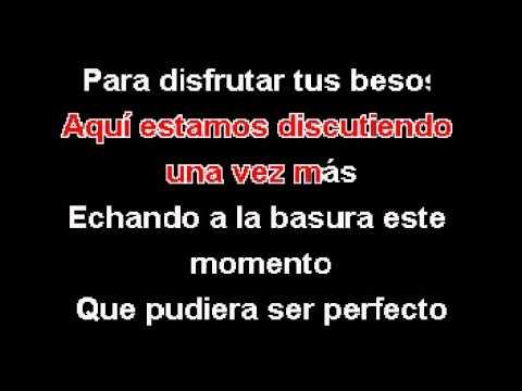 Karaoke Cuando Estas De Buenas (pesado) video