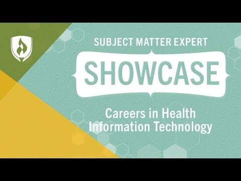 Careers in Heath Information Technology - Career Chat Ep. #1