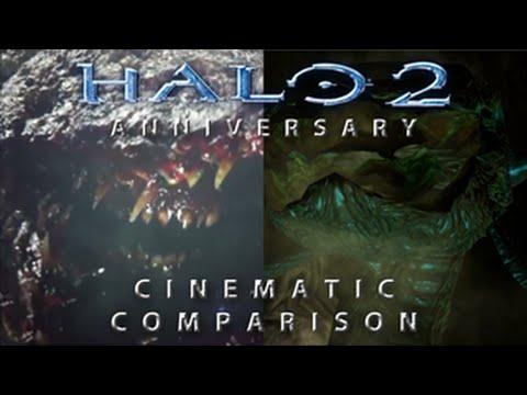 Halo 2 Anniversary Gravemind Comparison Halo 2 Anniversary Launch