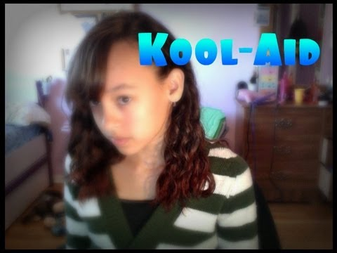 How to Dye your Hair with Kool-Aid! -HowToByJordan
