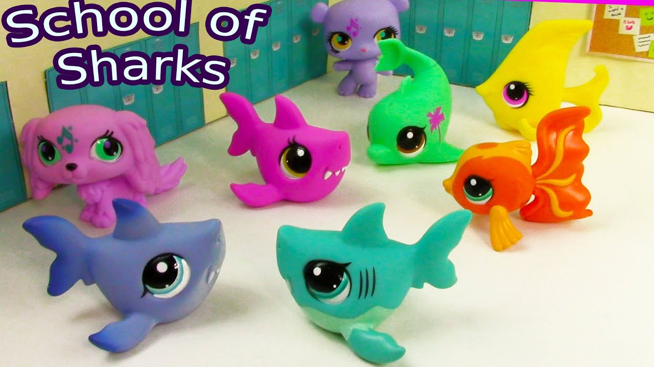 Lps The Note School Of Sharks Series Video Littlest
