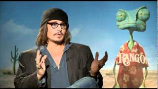 Johnny Depp Interview for RANGO