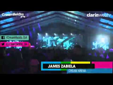 James Zabiela Creamfields Argentina 2012