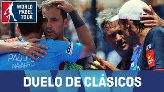 Pádel Deluxe: lo mejor del Lamperti/Mieres VS Paquito/Juan
