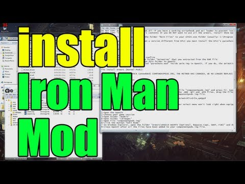 GTA Iron Man Mod - Installation Guide - How To Install GTA Iron Man Mod - Iron M