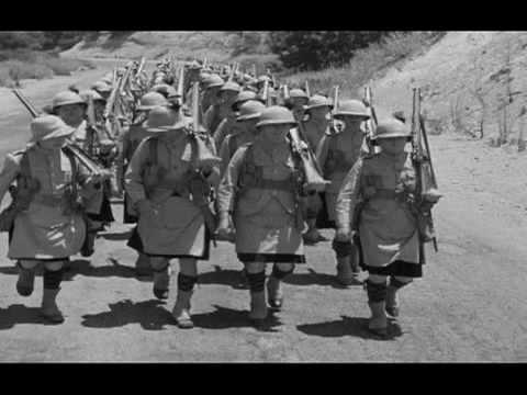 La marche cossaise, extrait de Bons pour le service (1935)