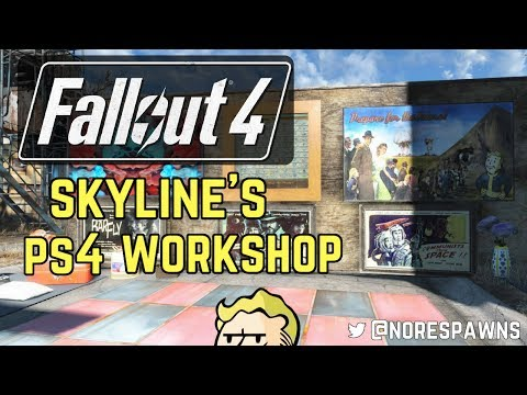 Fallout 4 Mod Review - Skyline's PS4 Workshop