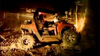 Polaris RzR climbs tree 2011 Mudd Jam