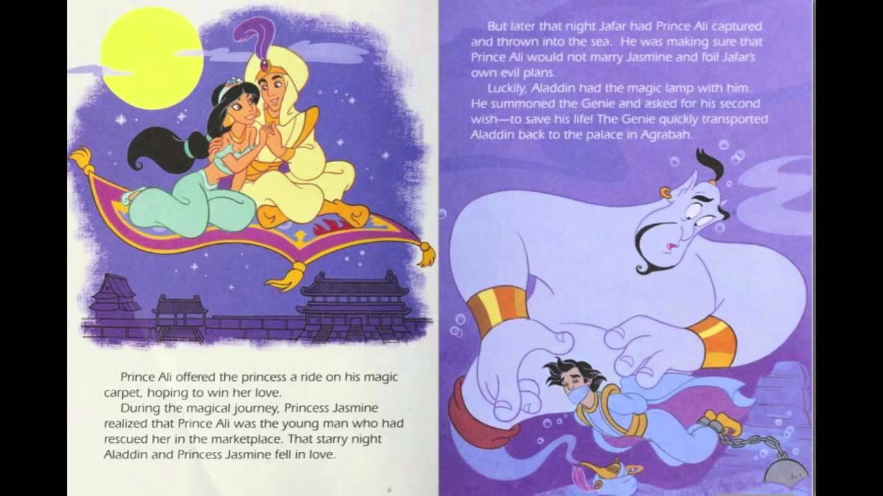 Aladdin Disney Golden Book Youtube