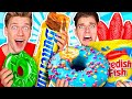 Making Giant Sour Candy!! How To Make The World's Largest DIY Real vs Gummy Food At Home Challenge thumbnail